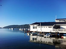 Knysna Yacht Club - fresh coat of paint